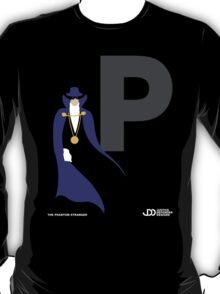 The Phantom Stranger - Superhero Minimalist Alphabet Clothing T-Shirt