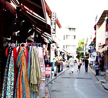 Istanbul lane ~ open for business by Jan Stead JEMproductions