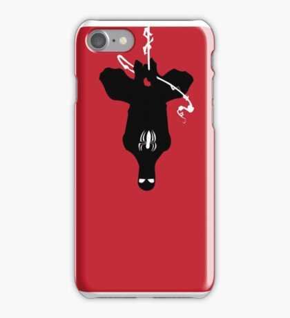 Spider-Man Silhouette iPhone Case/Skin