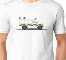 A Graphical Interpretation of the Defender 110 THETIS Unisex T-Shirt