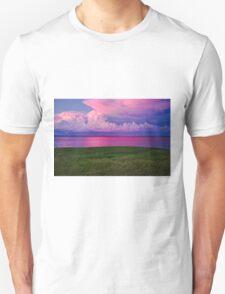 Plum Island, MA - Joppa Flats Sunset Unisex T-Shirt