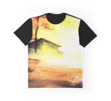Good Morning In Village Graphic T-Shirt