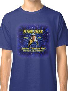 Star Trek James Tiberius Kirk Classic T-Shirt