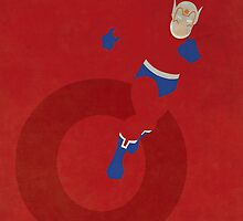 Orion - Superhero Minimalist Alphabet Print Art by justicedefender