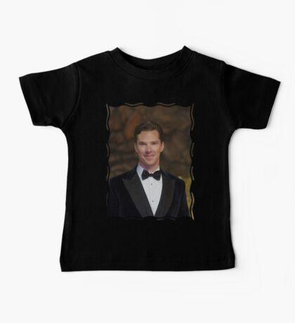 Benedict Cumberbatch - Oil Paint Art Baby Tee