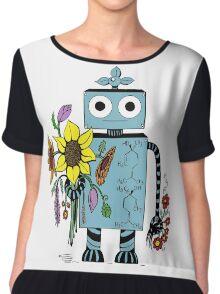 Lina The Robot Chiffon Top