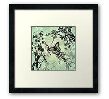 Wonderful butterflies Framed Print