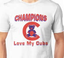 Love MY Cubs Unisex T-Shirt