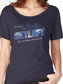 Greetings from Skyloft Women's Relaxed Fit T-Shirt