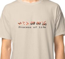 process of life excitebike Classic T-Shirt