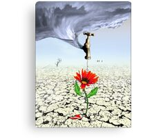 Breaking the Drought (revised) Canvas Print