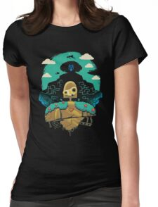Sky Castle Automaton Womens Fitted T-Shirt