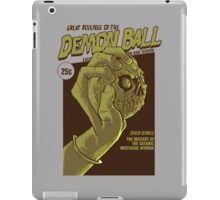 The Great Revenge of the Demon Ball iPad Case/Skin