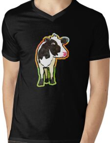 Dairy Cow Mens V-Neck T-Shirt
