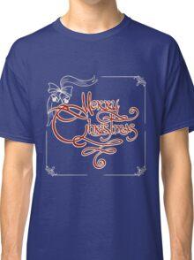 Merry Christmas Invitation Card Classic T-Shirt