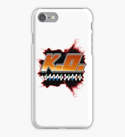 Knock Out 10 Hit Combo iPhone Case/Skin