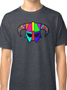 SKYRIM (RAINBOW) Classic T-Shirt