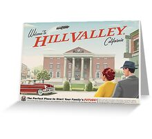Hillvalley  Greeting Card