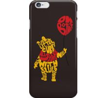 Pooh iPhone Case/Skin