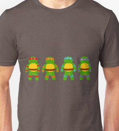 Pixellated Turtles Unisex T-Shirt