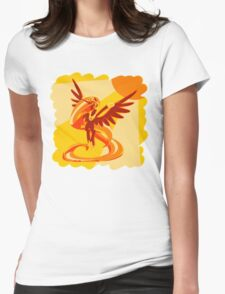 Sun Colours Womens Fitted T-Shirt