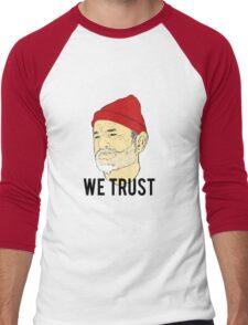 We Trust Men's Baseball ¾ T-Shirt