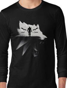 Geralt Medallion Long Sleeve T-Shirt