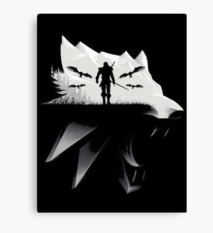 Geralt Medallion Canvas Print