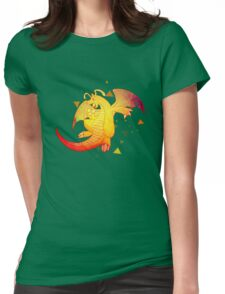 The Dragonite Tee Evolution Dragon Pokemon T-Shirt Womens Fitted T-Shirt