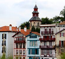Colorful Architectures - Basque Country, France. by Tiffany Lenoir