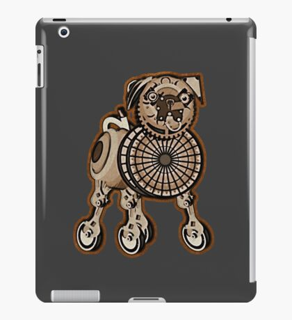 Steampunk Pug iPad Case/Skin