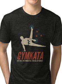 Gymkata t shirt Tri-blend T-Shirt