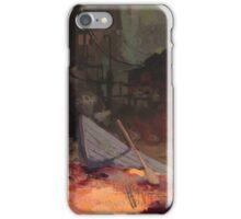 BOAT VILLAGE iPhone Case/Skin