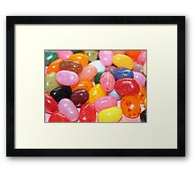 Jelly Beans Framed Print