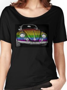 VW Beetle LGBT Women's Relaxed Fit T-Shirt