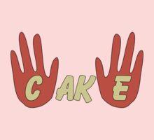 Cake (Cartoon Style) Kids Tee