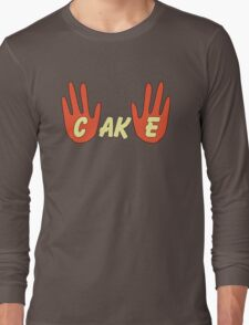 Cake (Cartoon Style) Long Sleeve T-Shirt