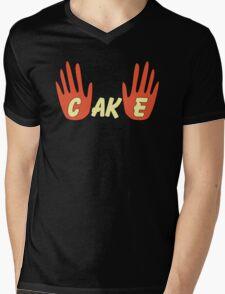 Cake (Human Style) Mens V-Neck T-Shirt