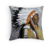 Sioux  Throw Pillow
