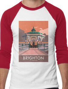 Brighton, Bandstand Men's Baseball ¾ T-Shirt