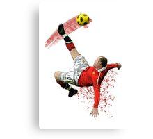 Wayne Rooney  Canvas Print