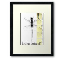 One Among The Fence 1 Framed Print