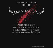 My Parents Were Rude at HannibalLand by swingsetlife