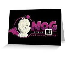 Mognet Greeting Card