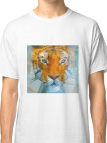 Polygon art tiger Classic T-Shirt