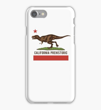 California Prehistoric iPhone Case/Skin