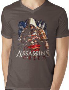 Assassins Creed Mens V-Neck T-Shirt