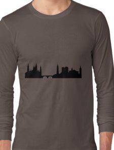 Saragossa skyline Long Sleeve T-Shirt