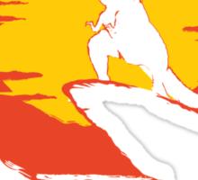 The Tyrant Lizard King  Sticker