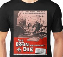 The Brain that Wouldn't Die vintage poster Unisex T-Shirt